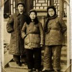 Soldatinnen, etwa Anfang der 1940er Jahre