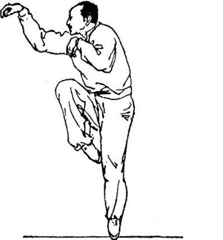 Abbildung 9: Affenfaust hou quan 猴拳